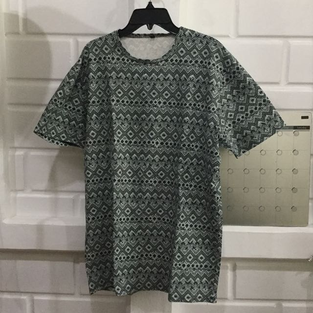 Long Tee Patterned