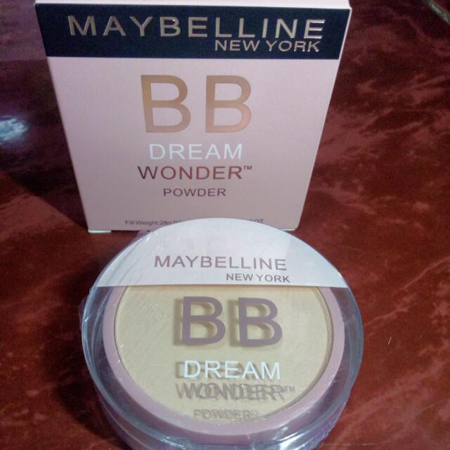 Maybelline BB Dream Wonder Powder In Shine 02