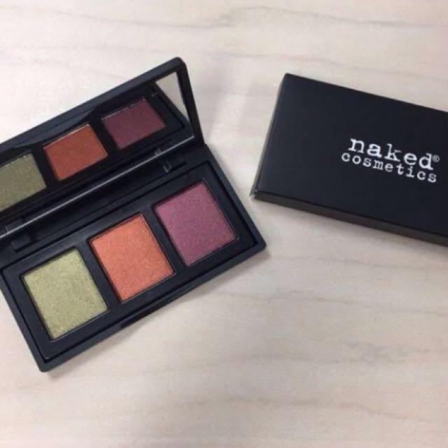 New Naked Cosmetics Urban Rustic Eyeshadow Palette
