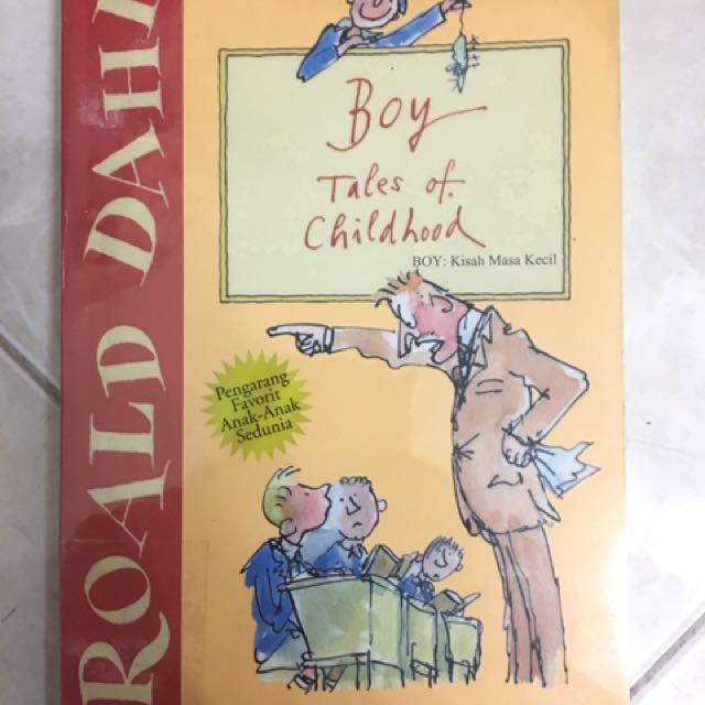 Novel Roald Dahl - Boy Tales