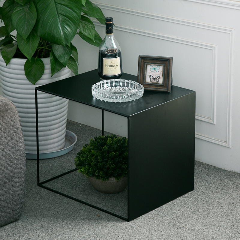 Office Sofa Side Table Coffee Table Stand Modern Metal Art Stand