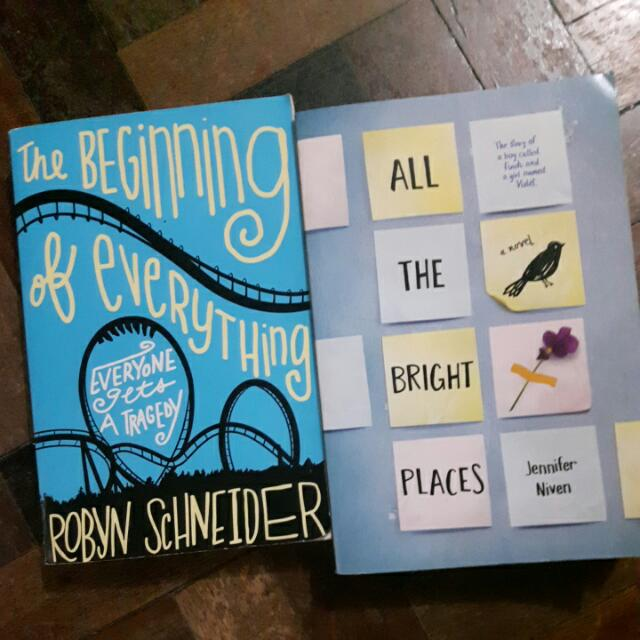 P750 For 2 free Shipping Fee  P350 Each 150 Shipping  All The Bright Places Beginning Of Everything
