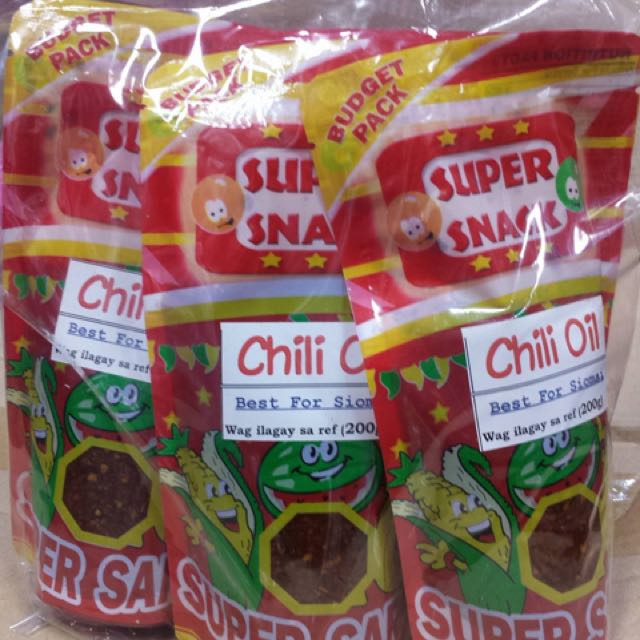 Pack Of 5 Chili Oil