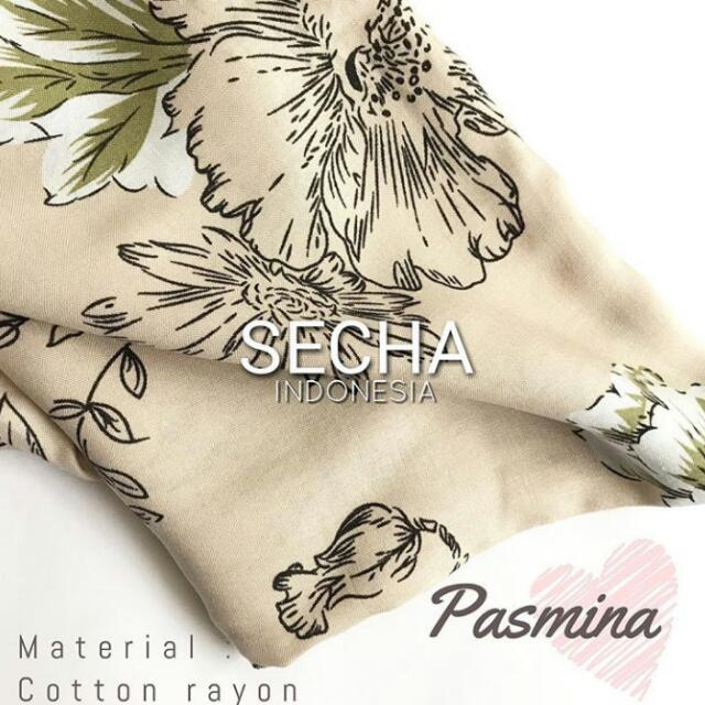 Pasmina Goldie Flower
