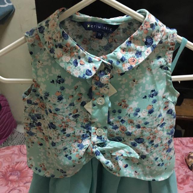 Periwinkle Floral Dress