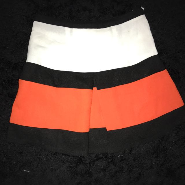 Petite Striped Skirt Size 8