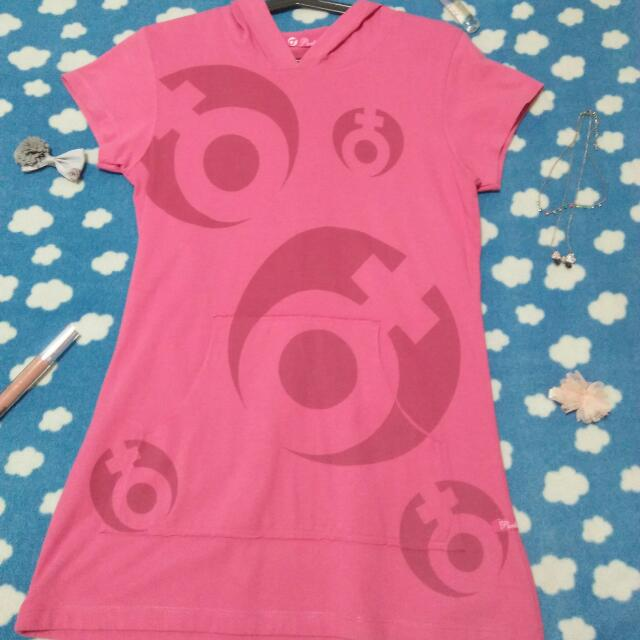 Pink Hoodie Shirt