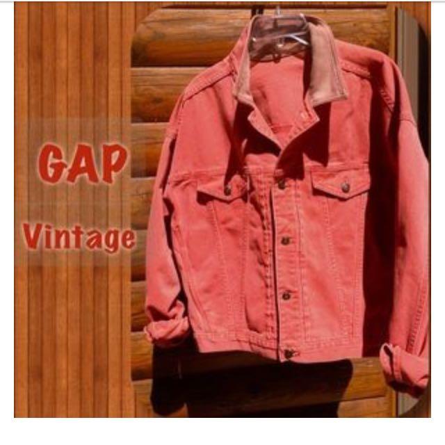 Red Vintage Gap Jacket