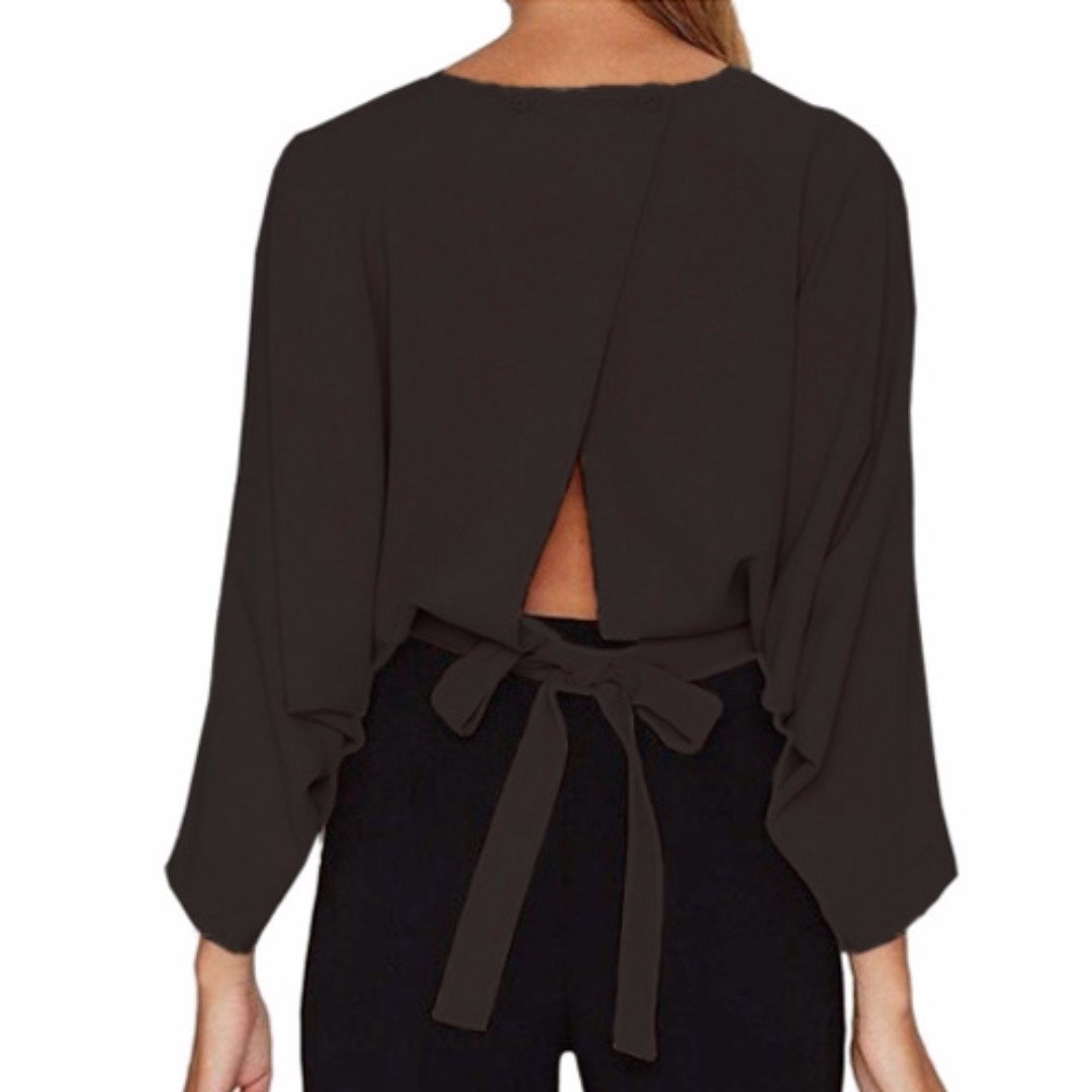 Sexy Bowknot Blouse, Female Top