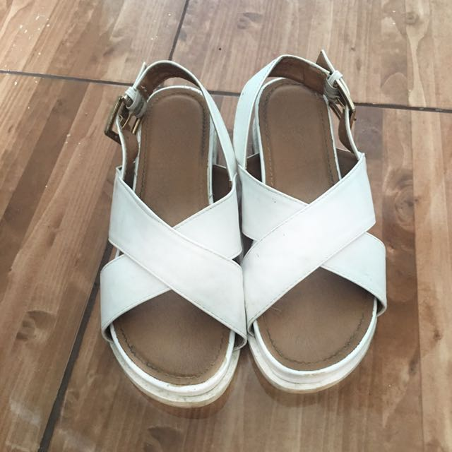 So Fab White Sandal