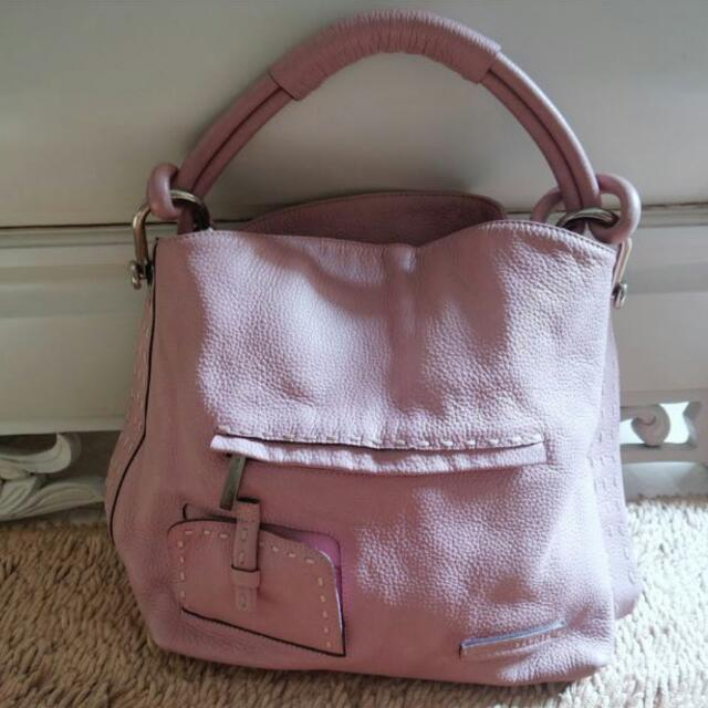 soft pink authentic leather (BCBG )