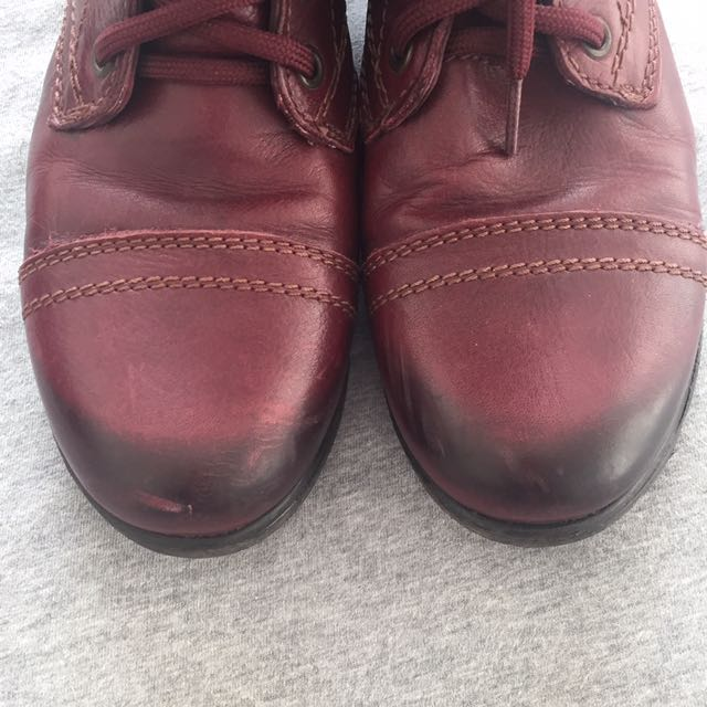 468a7ac2bab Steve Madden Red Military Boots