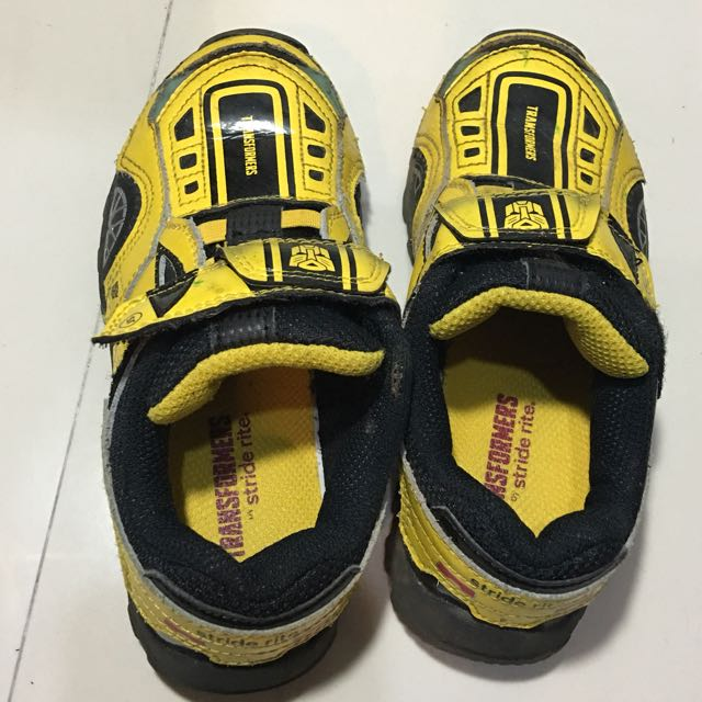 Stride Rite - Bumble Bee Transformers Rubber Shoes Kids