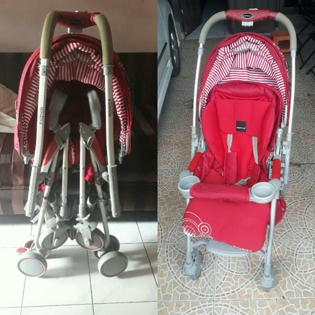 Stroller Baby Ginza 2 Red