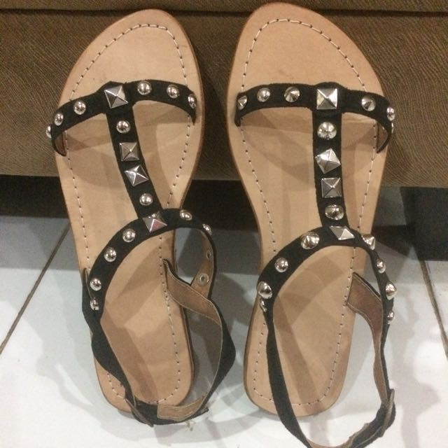 Studded Sandals