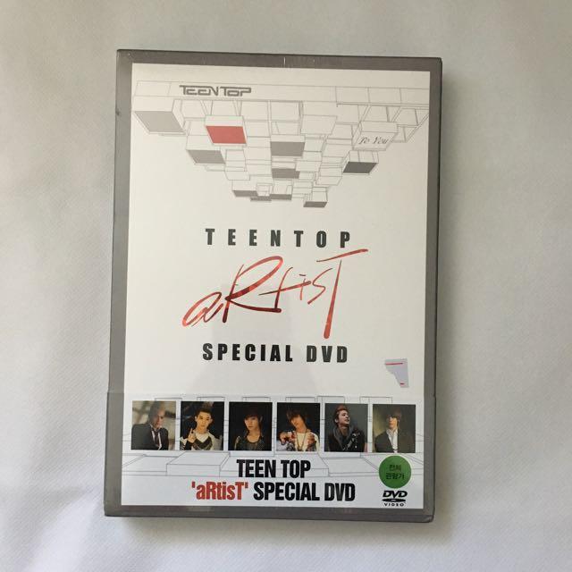 Teen Top Artist DVD