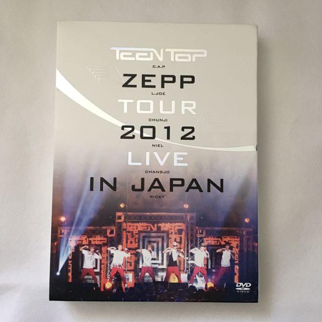 Teen Top Zepp Tour 2012 DVD
