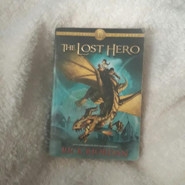 The Lost Hero by Rick Riordan Paperback