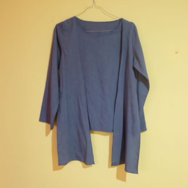 TOP BLOUSE  TURQUOISE