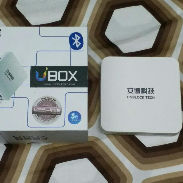 Unblock Tech Ubox Gen 3 S900 Pro UBTV Android Media Player