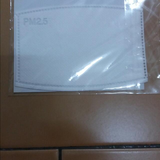 UV100 PM2.5 防塵濾片 兩片