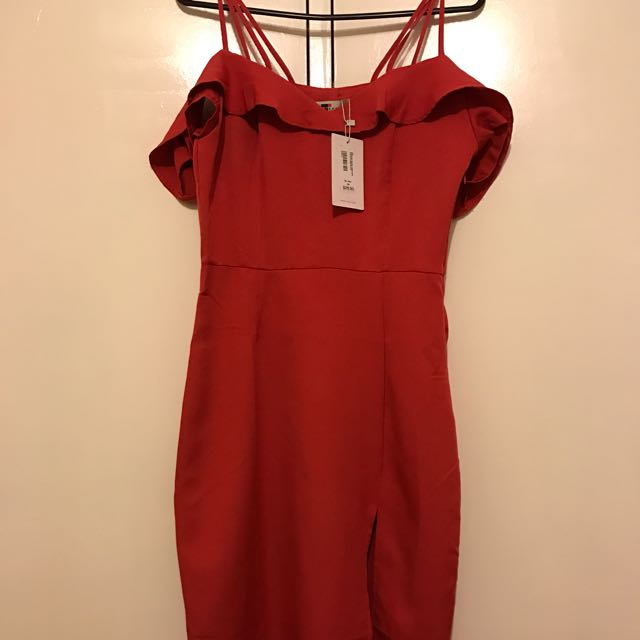Valley girl Size 8 Red Dresd
