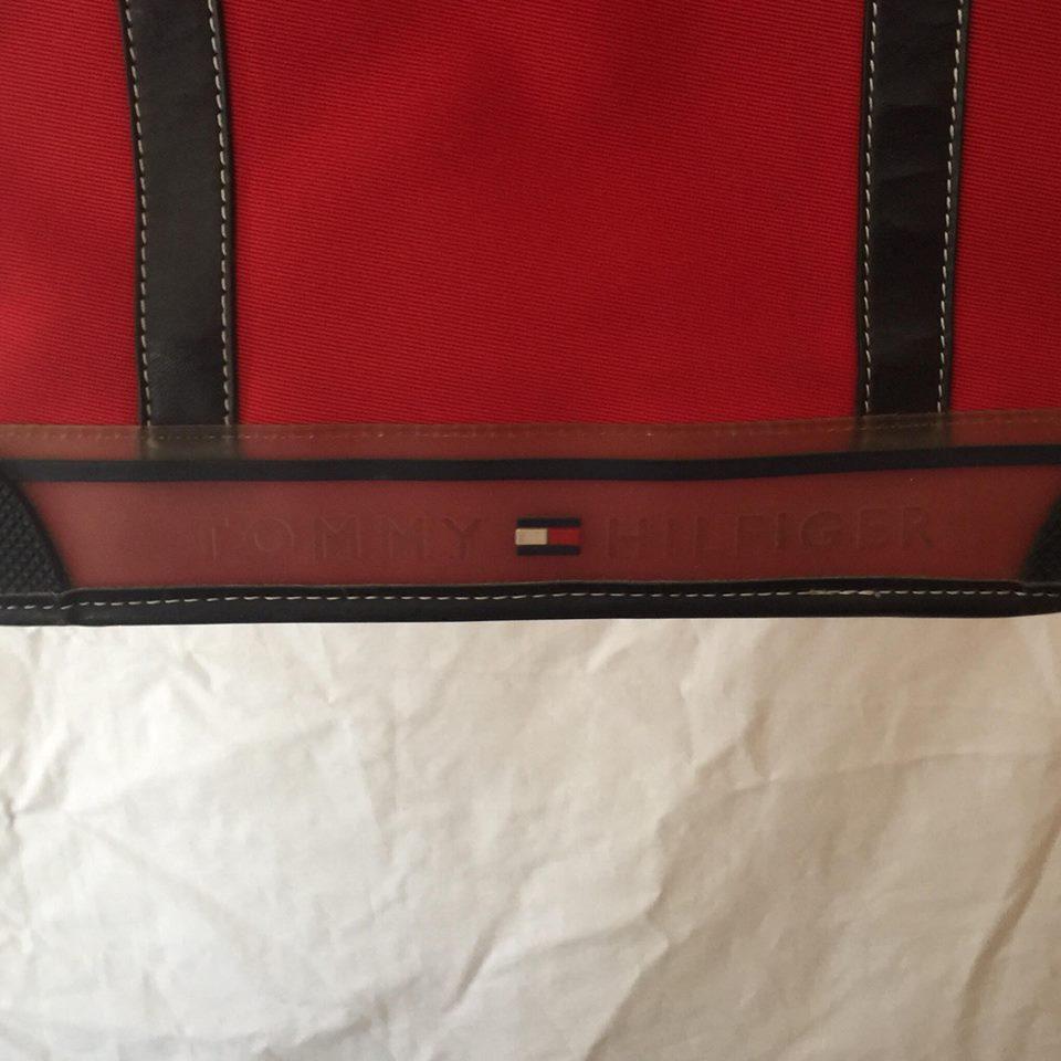 Vintage Tommy Hilfiger Side Carry Bag