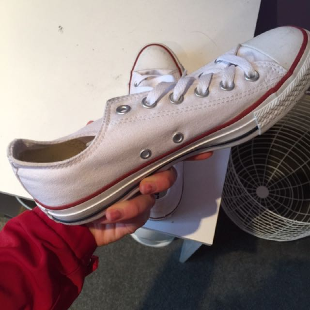 White Converse Shoes