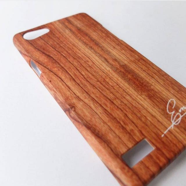 White Wood Personalised Phone Case