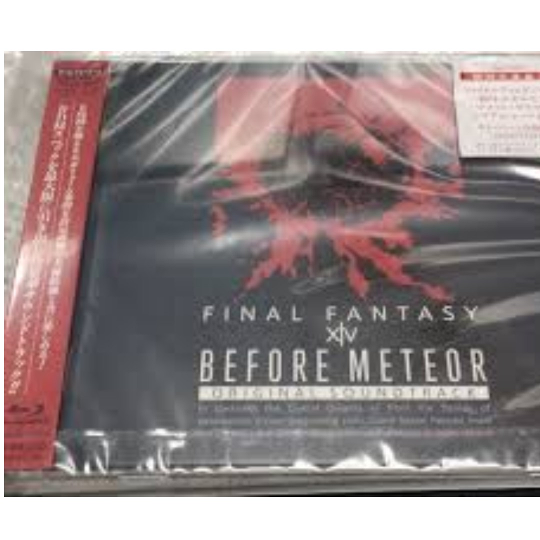 WTB: Final Fantasy XIV Soundtracks Before Meteor and A Realm Reborn FIRST  EDITION with Minion Code ONly