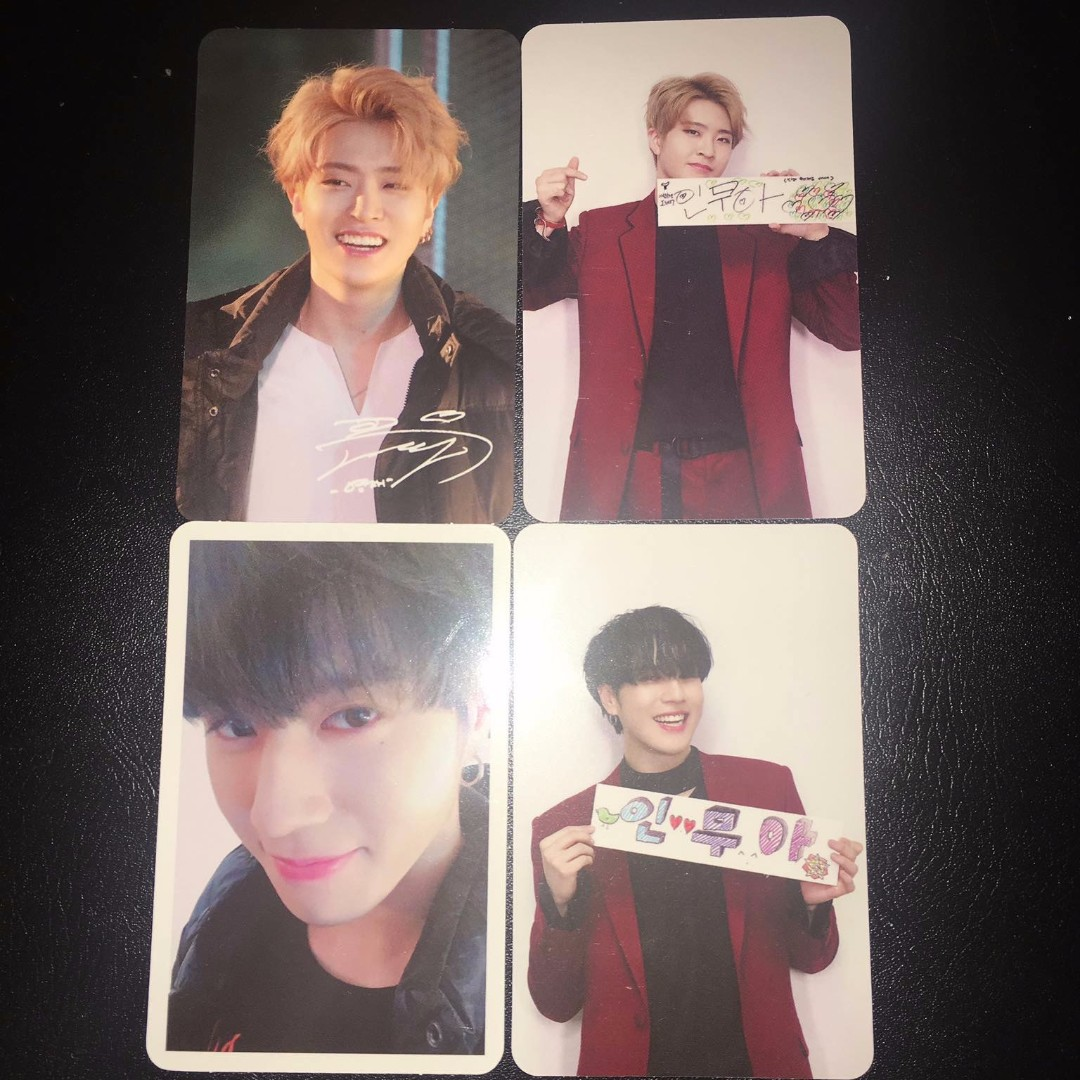 Youngjae & Yugyeom Got7 Arrival Photocards