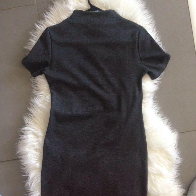 Zara Figure Hugging Midi Dress