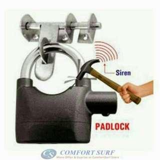 SIREN ARLAM PAD LOCK