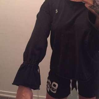 Black Zara Long Sleeve Shirt