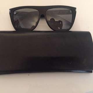 YSL Flat Too Wayfarer Sunglasses
