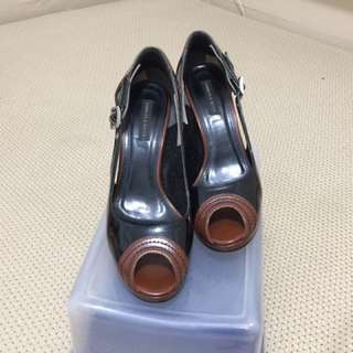 Charles & Keith Peep-toe Shoes