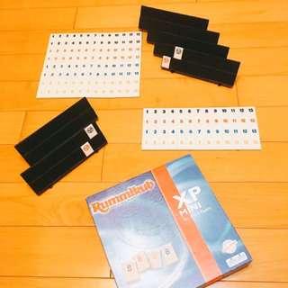 🎲桌遊-拉密數字牌Rummikub(4+2)人擴充版