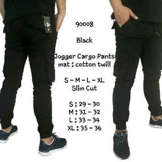 Jogger Cargo 4 Warna