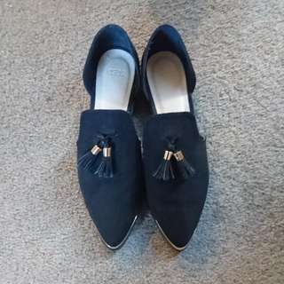 Asos Black Tassel Loafer