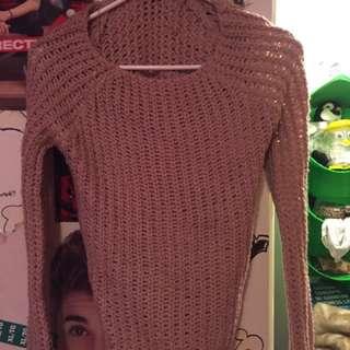 Pinkish Brown Sweater
