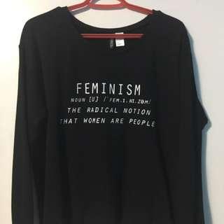 """""""Feminism"""" Sweatshirt"""