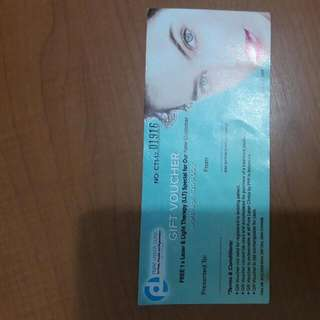 Voucher FREE 1X LASER LIGHT THERAPY FROM PURE LASER CLINIC