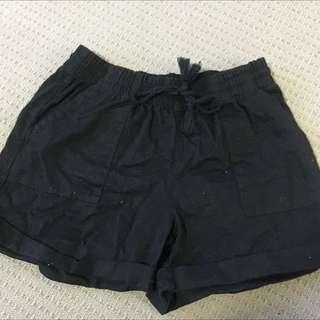 Black Shorts Size 8 Brand New