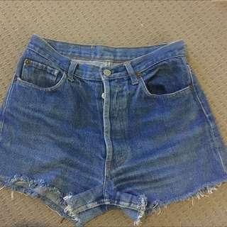 Levi 501 Island Shorts