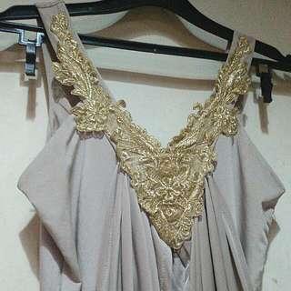 Dress Wanita Warna Salem Universal Size