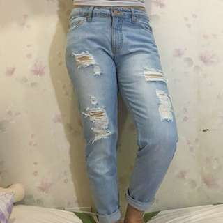 Penshoppe Ripped Jeans