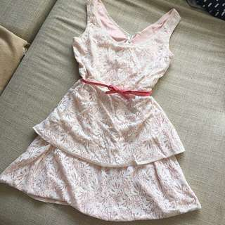 Size 8 Baby Pink Dress