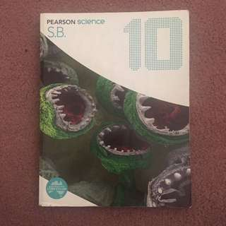 Pearson Science 10 Textbook