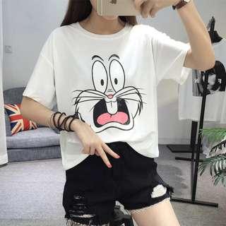 可愛卡通T恤p618
