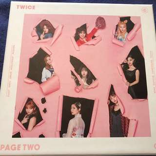 Twice Page Two Kpop Album (Brand New)